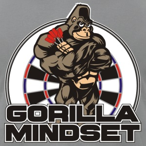 Gorilla Mindset Darts Shirt - Men's T-Shirt by American Apparel