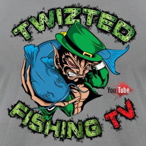 Official Twizted Fishing TV Logo!! - Men's T-Shirt by American Apparel