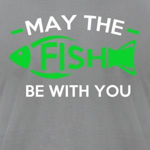 May the Fish be with you - Men's T-Shirt by American Apparel