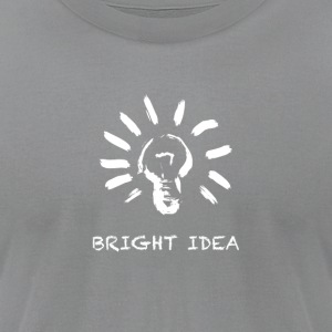 Bright Idea - Men's T-Shirt by American Apparel