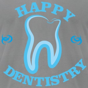 Happy dentistry - Men's T-Shirt by American Apparel