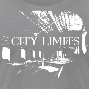 City Limits Warehouse - Men's T-Shirt by American Apparel