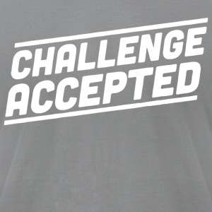 Challenge Accepted - Men's T-Shirt by American Apparel