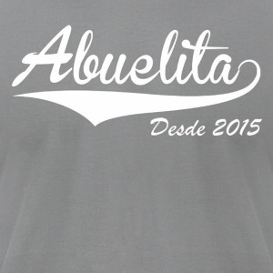 Abuelita Desde 2015 - Men's T-Shirt by American Apparel