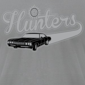 Hunters Picture - Men's T-Shirt by American Apparel