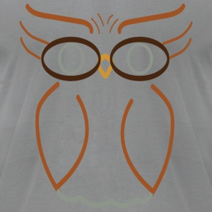 The Final Quirky Owl - Men's T-Shirt by American Apparel