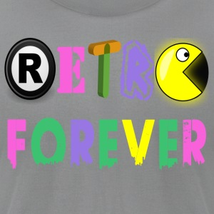 RETRO_FOREVER - Men's T-Shirt by American Apparel
