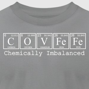 COVFeFe: Chemically Imbalanced - Men's T-Shirt by American Apparel