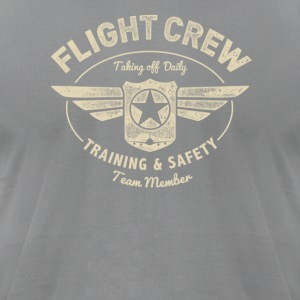 Flight Crew - Men's T-Shirt by American Apparel