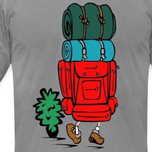 funny camping t shirts - Men's T-Shirt by American Apparel