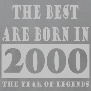 Legends Are Born In 2000 Hoodie 6 - Men's T-Shirt by American Apparel