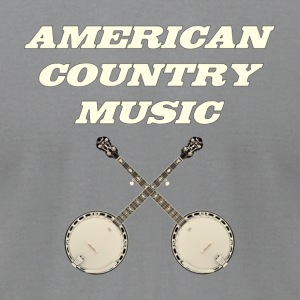 American country music - Men's T-Shirt by American Apparel