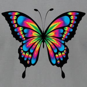 Abstract butterfly. - Men's T-Shirt by American Apparel
