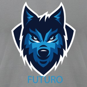 FUTURO WOLF - Men's T-Shirt by American Apparel