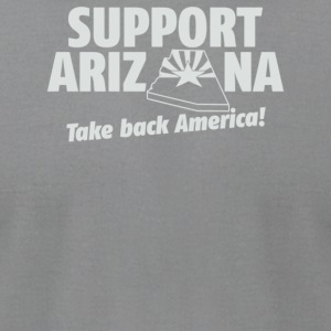Support Arizona - Men's T-Shirt by American Apparel