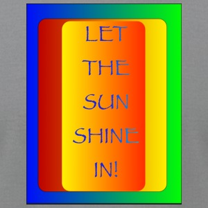 Let thesun shine in - Men's T-Shirt by American Apparel