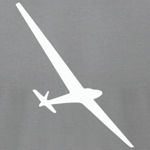 I love gliding - Men's T-Shirt by American Apparel