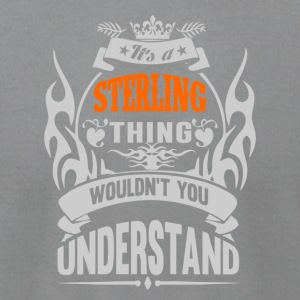IT'S A STERLING THING TSHIRT - Men's T-Shirt by American Apparel