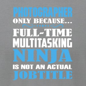 Photographer Shirt - Men's T-Shirt by American Apparel