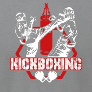 Kickboxing Tshirt - Men's T-Shirt by American Apparel