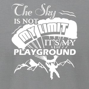 Paragliding Playground Shirts - Men's T-Shirt by American Apparel