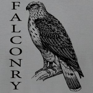 Falconry - Men's T-Shirt by American Apparel
