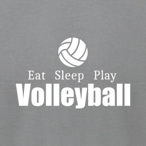 Eat Sleep Play Volleyball- cool shirt,geek hoodie - Men's T-Shirt by American Apparel