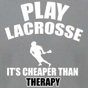 lacrosse designs - Men's T-Shirt by American Apparel
