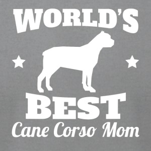 Worlds Best Cane Corso Mom - Men's T-Shirt by American Apparel