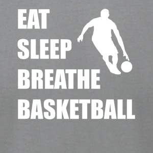 Eat Sleep Breathe Basketball - Men's T-Shirt by American Apparel