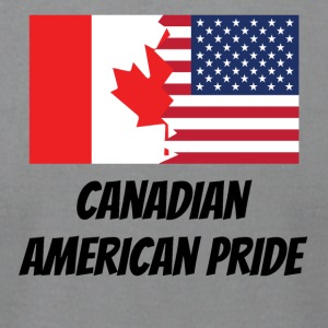 Canadian American Pride - Men's T-Shirt by American Apparel