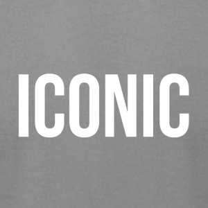 ICONIC DESIGN - Men's T-Shirt by American Apparel