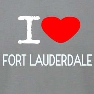 I LOVE FORT LAUDERDALE - Men's T-Shirt by American Apparel