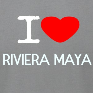 I LOVE RIVIERA MAYA - Men's T-Shirt by American Apparel