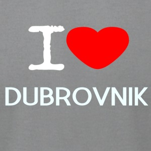 I LOVE DUBROVNIK - Men's T-Shirt by American Apparel