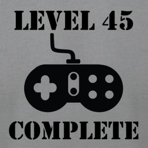 Level 45 Complete 45th Birthday - Men's T-Shirt by American Apparel