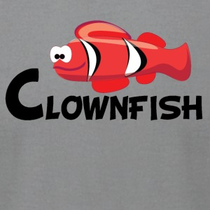 Cartoon Clownfish - Men's T-Shirt by American Apparel
