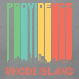 Retro Providence Rhode Island Skyline - Men's T-Shirt by American Apparel