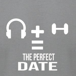 the perfect date - Men's T-Shirt by American Apparel