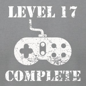 Level 17 Complete 17th Birthday - Men's T-Shirt by American Apparel