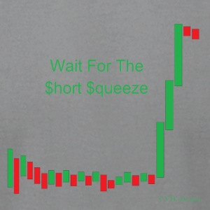 Wait for the short squeeze - Men's T-Shirt by American Apparel