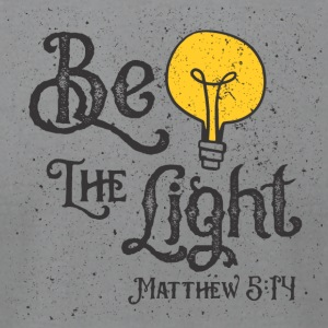 Be the Light - Men's T-Shirt by American Apparel