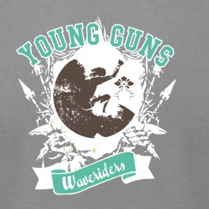 Young guns - Waveriders - Men's T-Shirt by American Apparel
