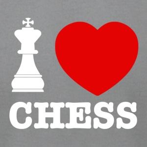 chess love design - Men's T-Shirt by American Apparel