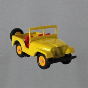 YELLOW JEEP - Men's T-Shirt by American Apparel
