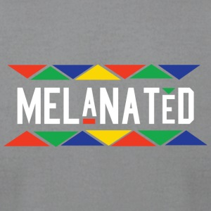 Melanated - Men's T-Shirt by American Apparel