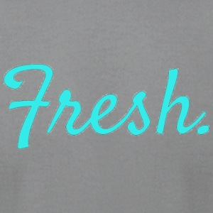 fresh. - Men's T-Shirt by American Apparel