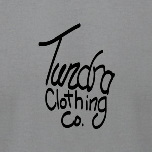 Tundra Clothing Logo - Men's T-Shirt by American Apparel
