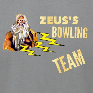 Zeus's Bowling Team - Men's T-Shirt by American Apparel