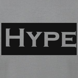 hypelogo - Men's T-Shirt by American Apparel